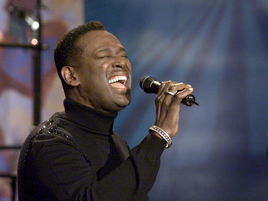"""Luther Vandross appears on the """"Tonight Show with Jay"""