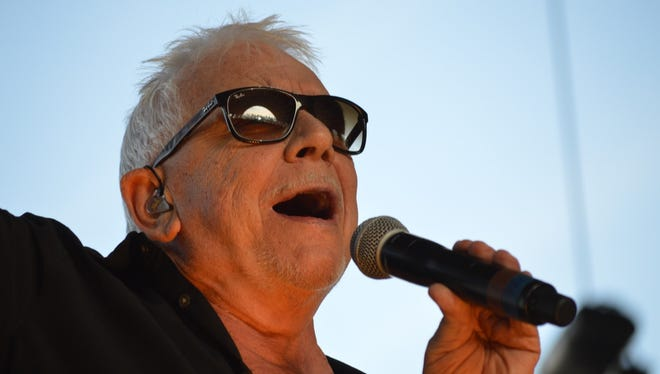 Eric Burdon & The Animals kept fans on their feet Sunday afternoon at the three-day Stagecoach: California's Country Music Festival in Indio, Calif.