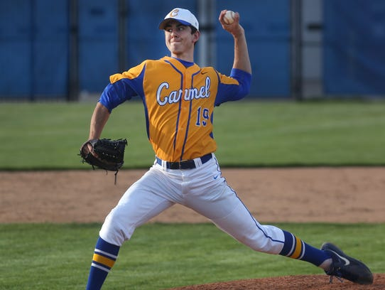 FILE -- Carmel pitcher Tommy Sommer is one of the nation's