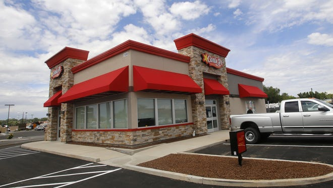 The climate has been good or fast-food restaurants. Carl's Jr., as seen in Farmington.