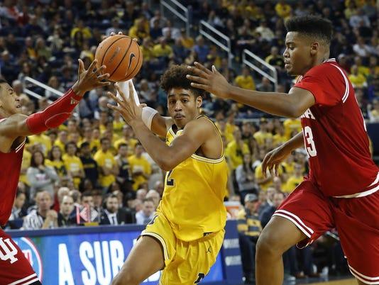Indiana Michigan Basketball