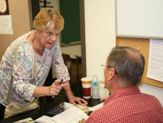 Janet Pendygraft and Jim Richardson.
