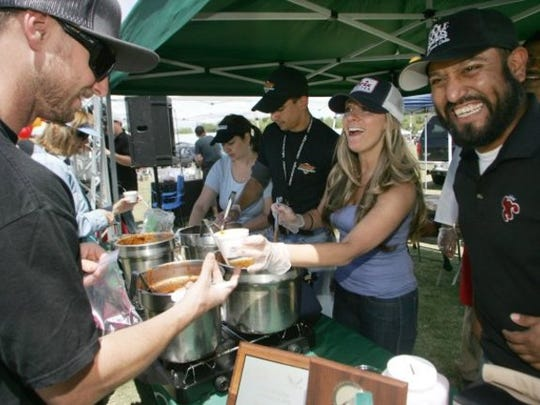 The Chili Cook-Off returns to Thousand Oaks on Sunday.