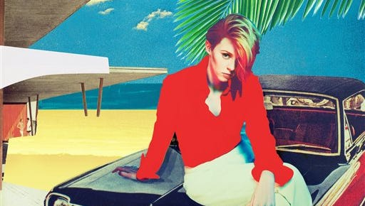"""This CD cover image released by Interscope/Cherrytree shows """"Trouble in Paradise,"""" by La Roux."""