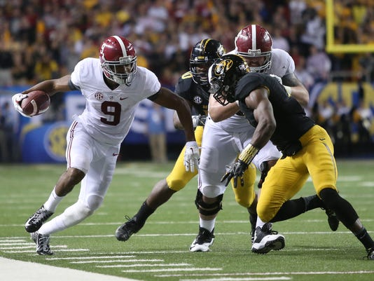 NCAA Football: SEC Championship-Missouri vs Alabama