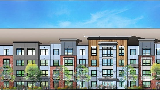 Modera Parsippany is a rental community of 212 luxury units now underway. Rentals will begin in the fall of 2017.