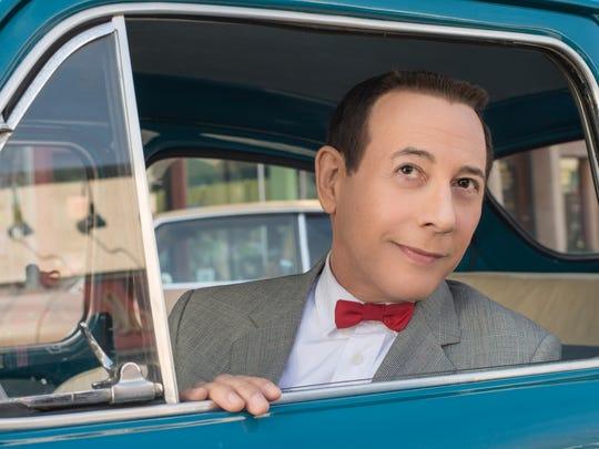 Pee-wee (Paul Reubens) leaves his comfortable town in 'Pee-wee's Big Holiday.'