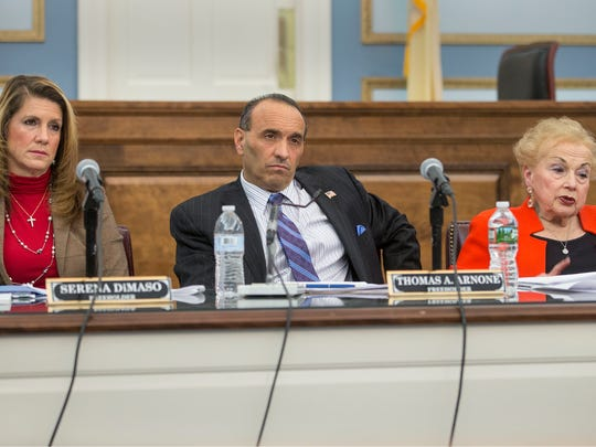 The Monmouth County Board of Chosen Freeholders hold