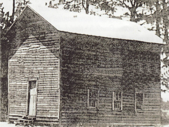 During the mid 1920's, the church relocated to a two-story