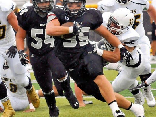 Forest McKee and the Oñate Black Knights will look