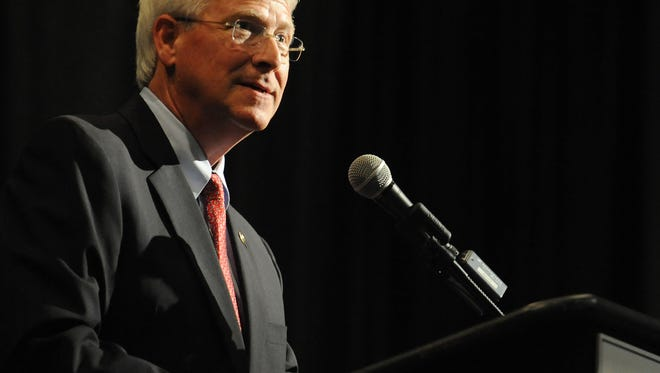 U.S. Sen. Roger Wicker, whose mother died from dementia. advocates for Alzheimer's research. His bipartisan bill would authorize $10 million a year for five years for successful Alzheimer's research projects.
