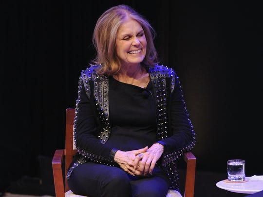 Gloria Steinem speaks onstage May 4, 2016, during the