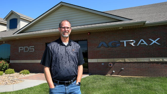 Gayle Lewis is the president of AgTrax, an agribusiness software developer based at 1632 E. 23rd Ave. in Hutchinson. AgTrax offers a variety of software including their newest software Elevate, an advanced bin management software providing real-time inventory data.