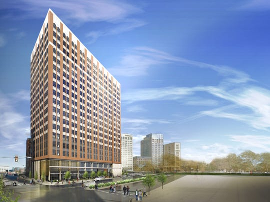 150 Bagley will include 148 residential units and first-floor retail.