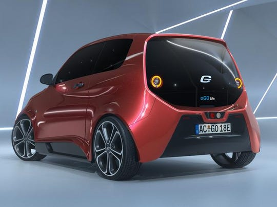 The e.GO Life is a compact, lively four seat electric
