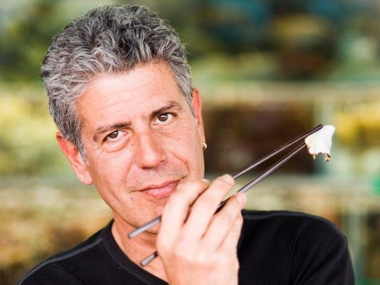 Anthony Bourdain, showin in a 2009 photo.