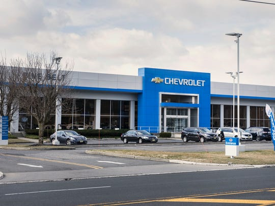 Pine Belt Chevrolet on Route 88 in Lakewood. Pine Belt Chevrolet is celebrating its 80th Anniversary.