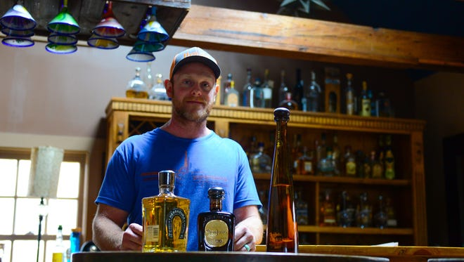 Chris McKeown, Owner of Agave, poses for a photo in his Lewes location on Monday, May 22, 2017.