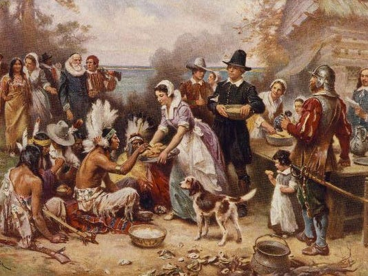 First Thanksgiving LOC