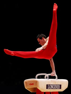 Alex Naddour of Queen Creek finished seventh on pommel horse at the World Gymnastics Championships.