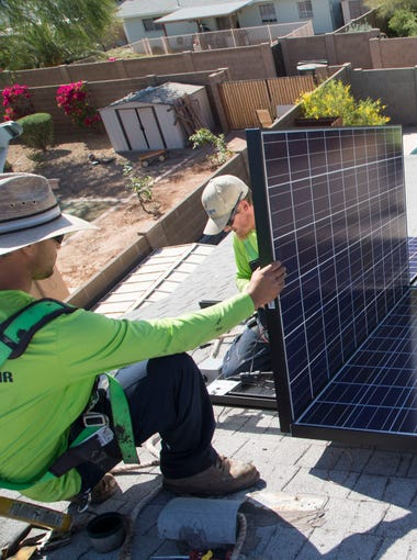 A look at the size and scope of Arizona's solar industry, according to figures from the Solar Energies Industry Association.