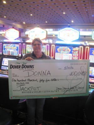 Donna Kerpen from Camden Wyoming, Del won a $100,045 jackpot at Dover Downs Hotel & Casino on May 10, 2016 on a Triple Red Hot Slot Machine.