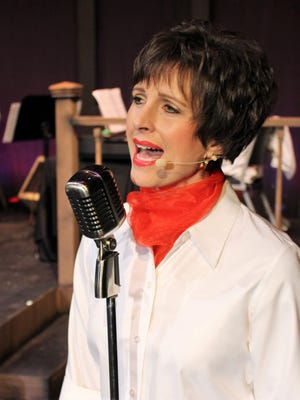 """Dedra Knox is Patsy Cline in Angelo Civic Theatre's fundraiser production of """"Always...Patsy Cline."""""""