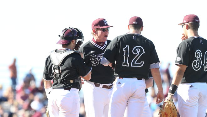 Mississippi State coach John Cohen is using the SEC tournament to align his rotation for regionals.