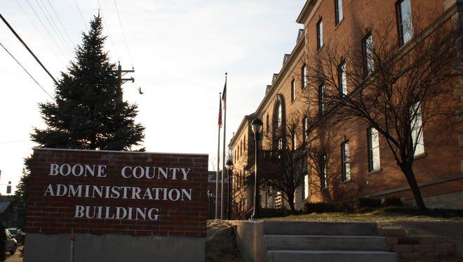 Boone County Administration Building, 2950 Washington St., Burlington.