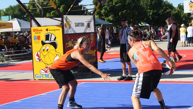 The Gus Macker 3-on-3 Basketball Tour will arrive in Sheboygan on August 5.