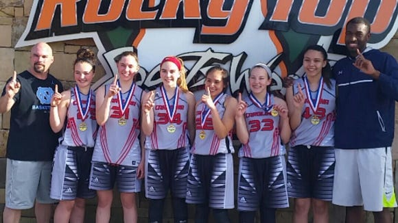 The Team Carolina 15U girls won the Tennessee Miracle Spring Classic held March 31-April 2 in Gatlinburg, Tenn.