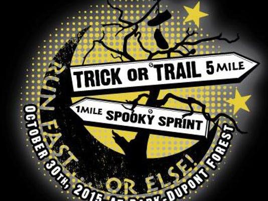 Trick or Trail Halloween Race Logo