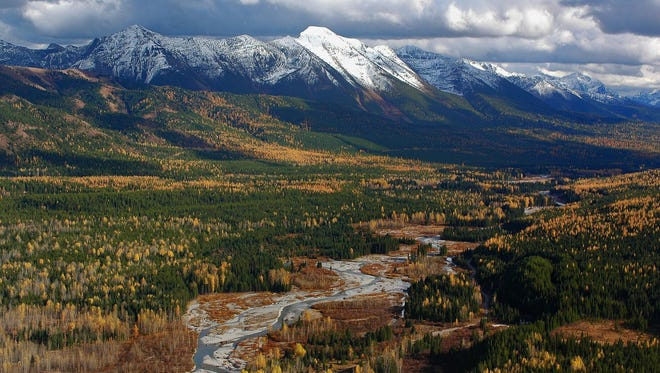 The North Fork of the Flathead River on the British Columbia side of the border is one of the areas the Yellowstone to Yukon Conservation Initiative believes needs more protection.