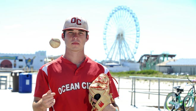 Sean Mooney had a sensational senior season for Ocean City. The right-hander led the Red Raiders to the South Jersey Group 3 title.