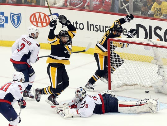 NHL: Stanley Cup Playoffs-Washington Capitals at Pittsburgh Penguins