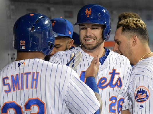 Kevin Plawecki, Dominic Smith