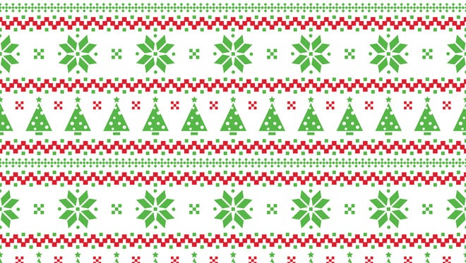 Reduce landfill waste by wrapping holiday gifts in festive fabrics.