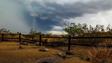 A monsoon storm is captured on Aug. 3 near Phoenix.
