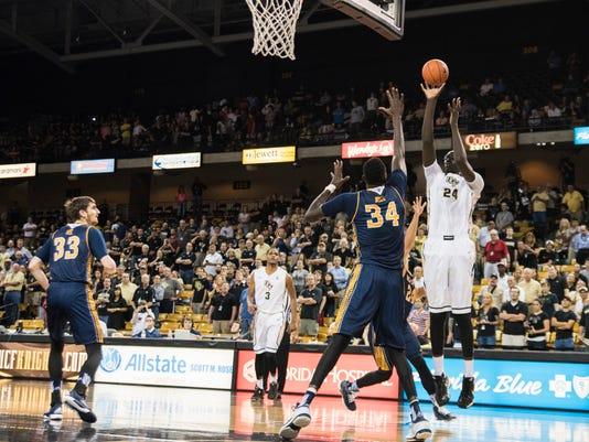 Men's basketball: Tacko Fall