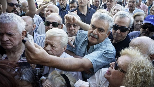 Debt crisis ends badly for Greece