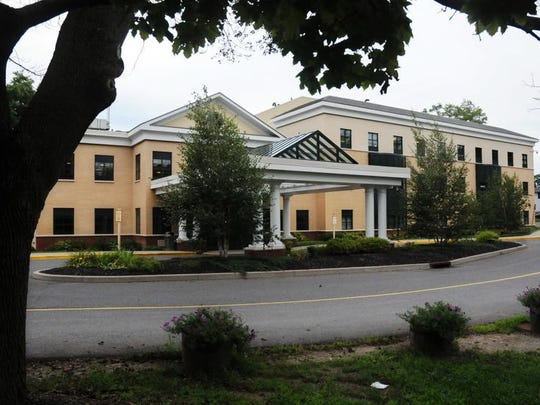 The exterior of the Northern Dutchess Hospital is seen.