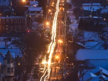 The Champlain Parkway slumbers near its end point at Home Avenue in Burlington's South End last year. Mired in environmental issues and lawsuits from area land owners, construction ground to a halt decades ago.