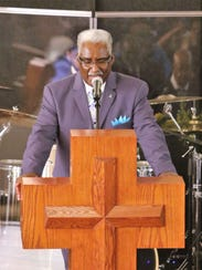 The Rev. Russell Bailey, pastor of Victory Church in