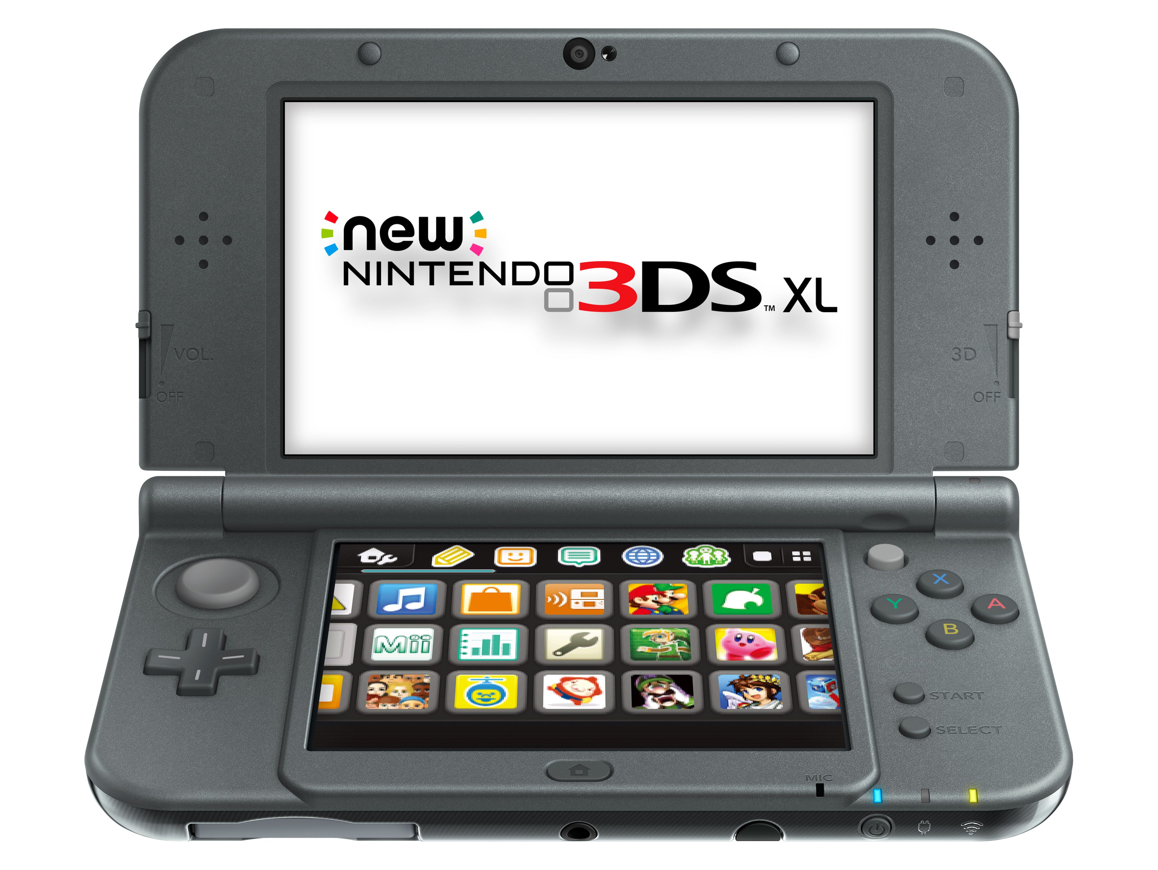 The New Nintendo 3DS XL.