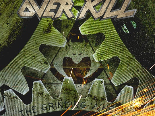 "Overkill's 2017 LP ""The Grinding Wheel"" on Nuclear"