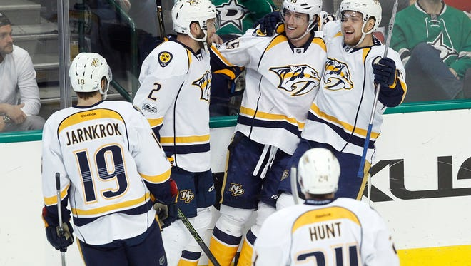 The Predators' playoff seeding is undetermined with one regular-season game left.