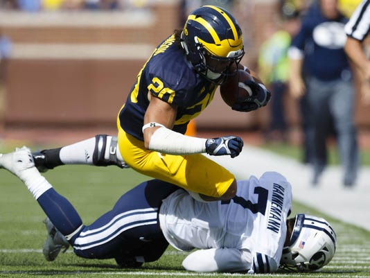 NCAA Football: Brigham Young at Michigan