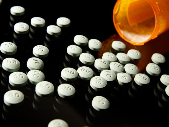 OxyContin, in 80 mg pills, in a 2013 file image.