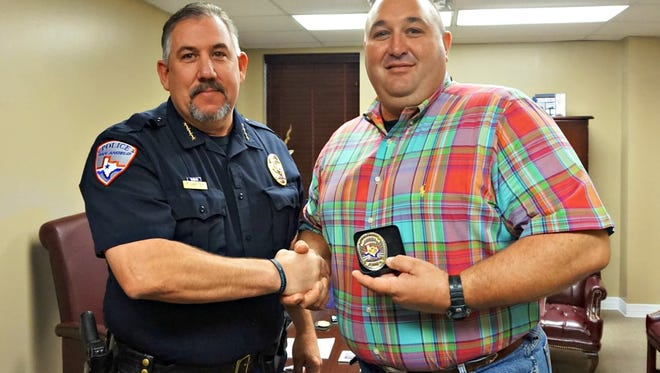 Retired Sgt. Todd Dornhecker returns to SAPD as a reserve officer