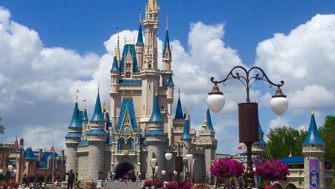 Walt Disney World's Magic Kingdom is the world's most popular theme park.